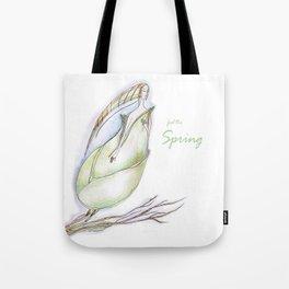 Elf-spring-love-green Tote Bag