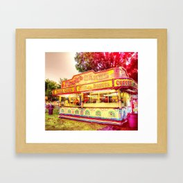 Funnel Cakes Framed Art Print