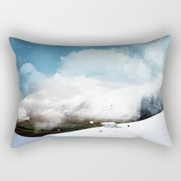 THE WHITE ODYSSEY OF HUAÏA Rectangular Pillow