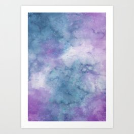 Sulky Galaxy Art Print