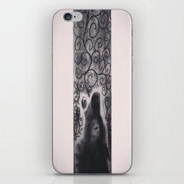 wolf howl iPhone Skin