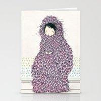 musa Stationery Cards featuring Musa by Belén Segarra