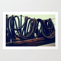 Tied Art Print