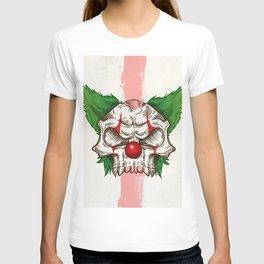 skull sketch design T-shirt