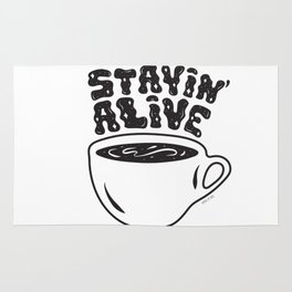 Stayin' Alive Rug