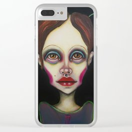 pin Clear iPhone Case