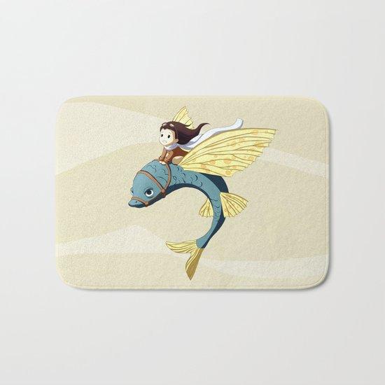 Flying Fish Bath Mat