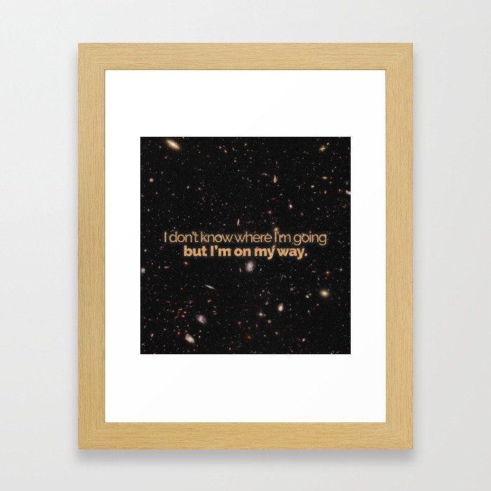 Carl Sagan is our hero Framed Art Print