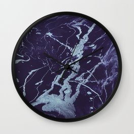 Rivulets - An Abstract Wall Clock