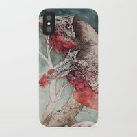 """cartoon iPhone & iPod Cases featuring """"Insatiable"""", as a print by Caitlin Hackett"""