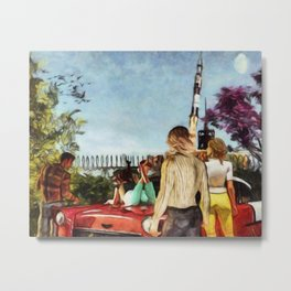 SUMMER OF '69 Apollo 11 Moon Mission Launch Metal Print
