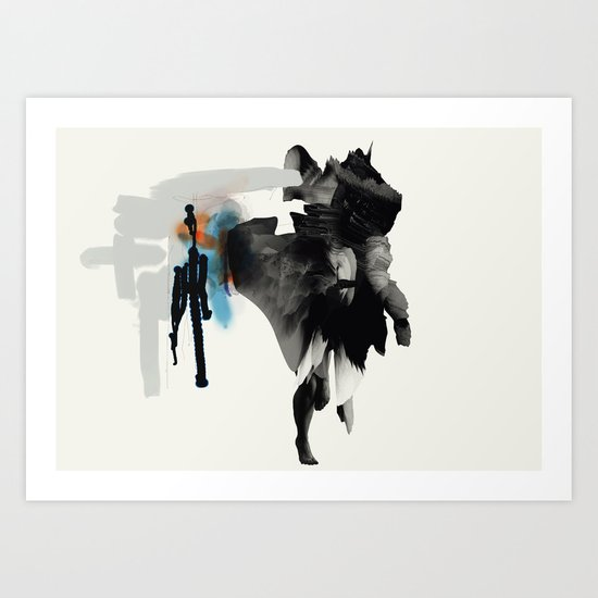 Thought Art Print