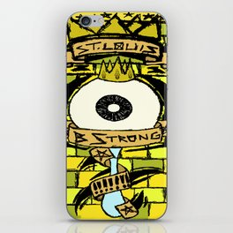 B Strong iPhone Skin