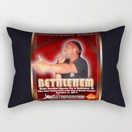 Richie Knucklez appearance card - King of Arcades World Premiere, Bethlehem PA Rectangular Pillow