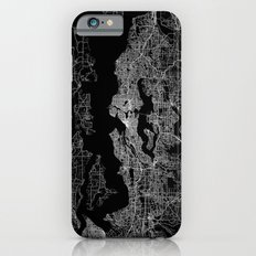 Seattle map iPhone 6 Slim Case