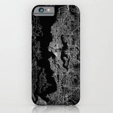 Seattle map iPhone 6 Slim Case