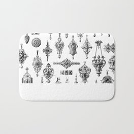 Jewels and Trinkets Bath Mat