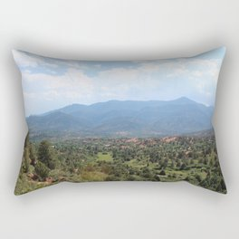 Mountains in the Distance Rectangular Pillow