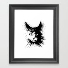 Inkcat4 Framed Art Print