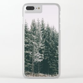 Winter VIII Clear iPhone Case