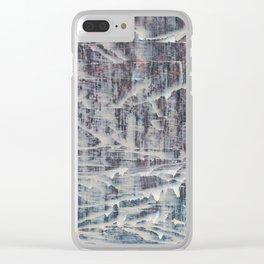 Simon Carter Painting Truman Clear iPhone Case