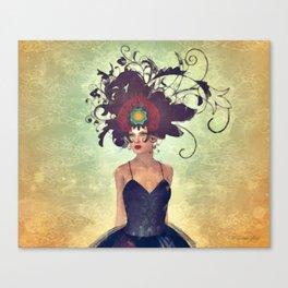 WH 002 Gothic Art Dancer Canvas Print