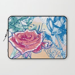 Blossoming rose Laptop Sleeve
