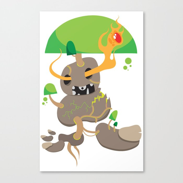 Swamp Elemental Canvas Print
