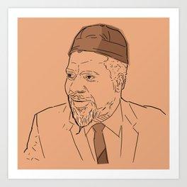 Thelonious Monk Art Print