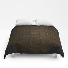 Circular Connections Copper Comforters