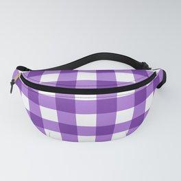 Purple Buffalo Check - more colors Fanny Pack