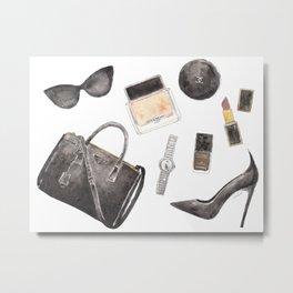 My Style Essentials n.1 Metal Print