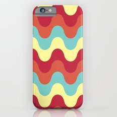 melting colors pattern iPhone 6s Slim Case