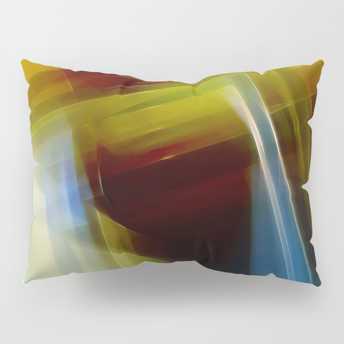 Abstract Composition 420 Pillow Sham