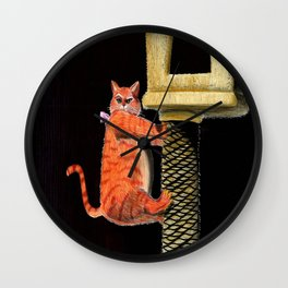 Puss in Boots Wall Clock