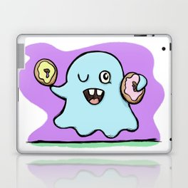 Is That More Food? The Elusive Donut Ghost. Laptop & iPad Skin