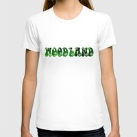 woodland T-shirts featuring Woodland by Geni