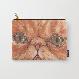 Betty aka The Snappy Cat- artist Ellie Hoult Carry-All Pouch