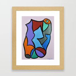 """Legs"" Framed Art Print"