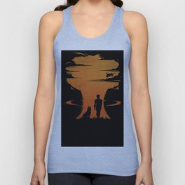 the atmosphere of the afternoon Unisex Tank Top