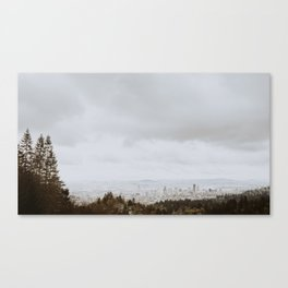 Minimal Portland Canvas Print