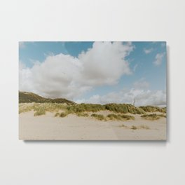 Barmouth beach North Wales Metal Print