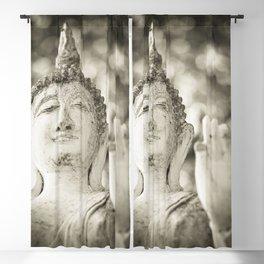 Buddha in Sukhothai Blackout Curtain