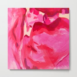 Rose Petals Series of Paintings Metal Print