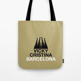 Vicky, Cristina, Barcelona Tote Bag