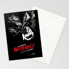 American Werewolf in London Stationery Cards