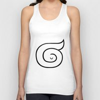 sleep Tank Tops featuring sleep by simon oxley idokungfoo.com