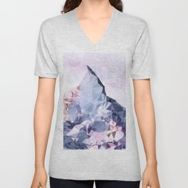The Crystal Peak Unisex V-Neck