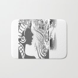 Without you Bath Mat