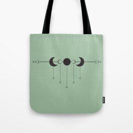 Moon Droplets Tote Bag